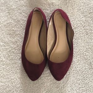 Old Navy Shoes - Maroon Flats